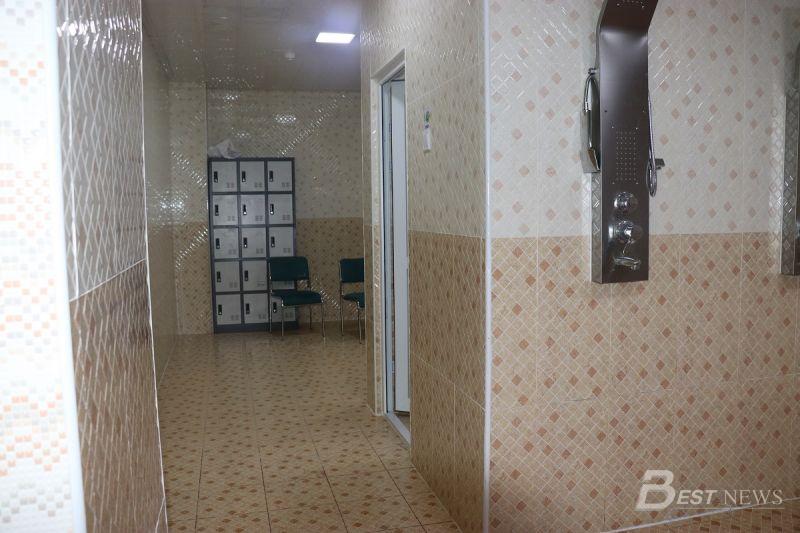 Эрэгтэй эмэгтэй хувцас солих өрөө болон душ